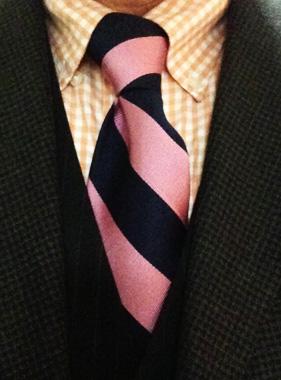 Der Manhattan Krawattenknoten