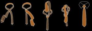 Der Oriental Krawattenknoten