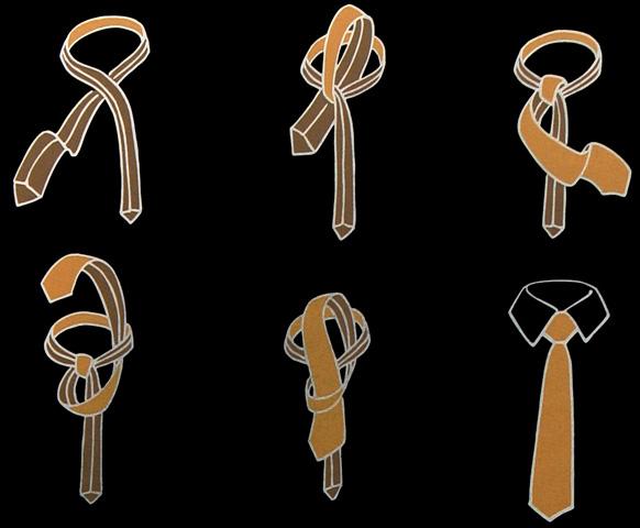 Der Pratt Krawattenknoten