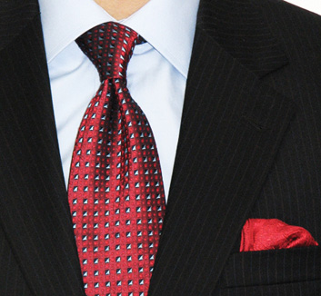Der halbe Windsor Krawattenknoten