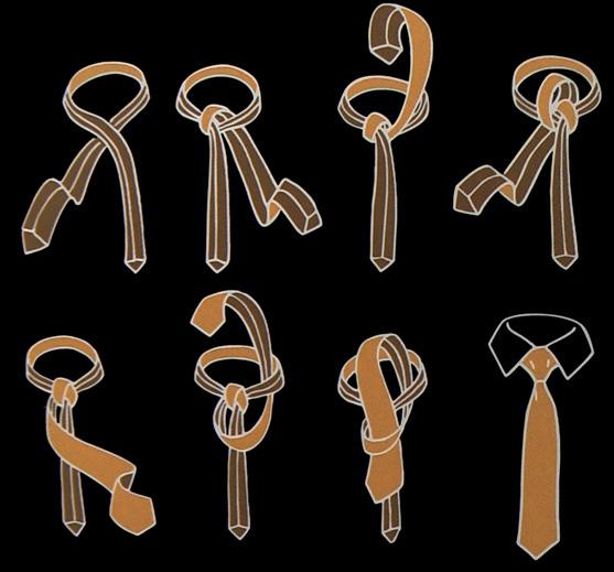 Plattsburgh Krawattenknoten