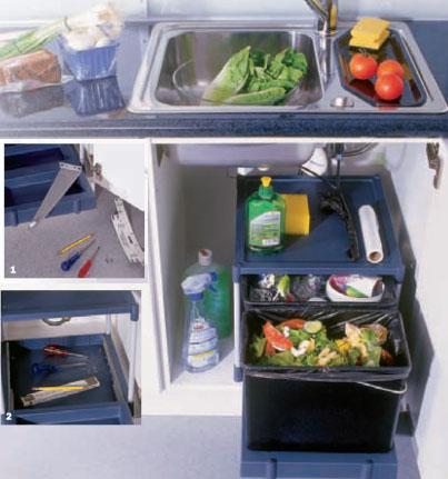 Arbeitsplatz Küche vol.5  Müll trennen für ein sauberes Gewissen