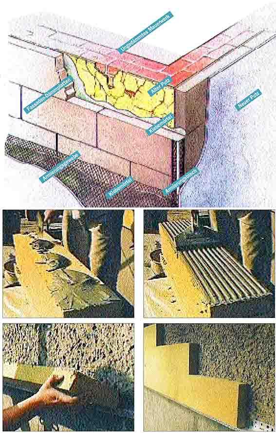 Fassaden – gut gedämmt und neu verputzt – teil 2