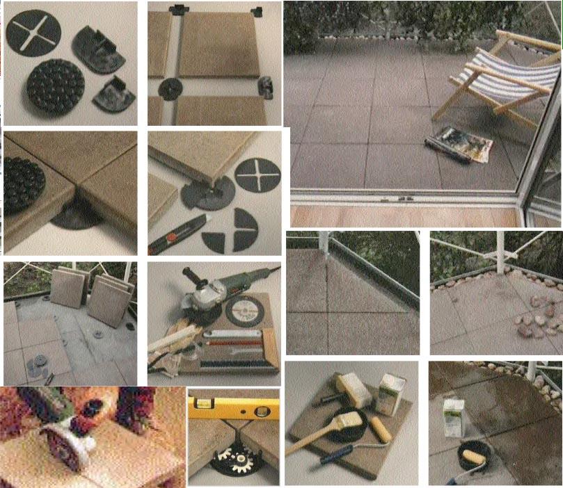Bodenplatten trocken verlegen – Der Boden für Balkon und Terrasse