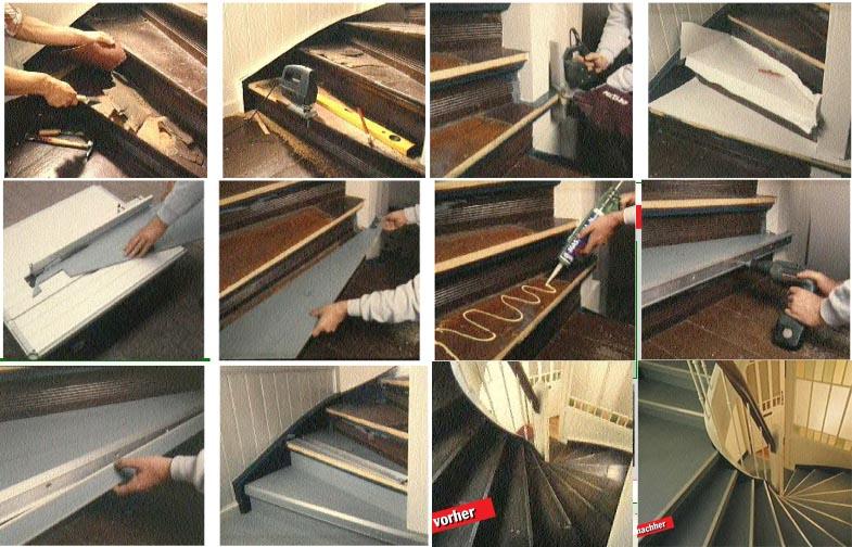 Treppe renovieren – Stufe für Stufe ein toller Auftritt