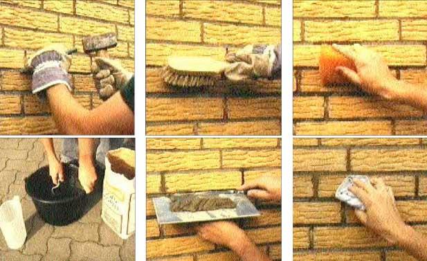 Mauerschäden reparieren – Geringer Aufwand, schneller Erfolg