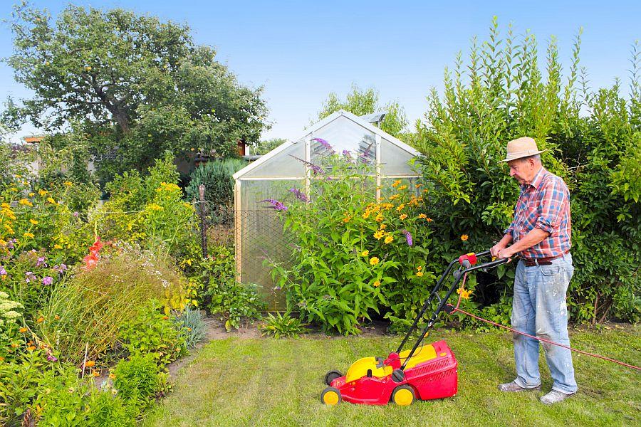 Gartenfreizeit -Teil Lebens – Teil 1