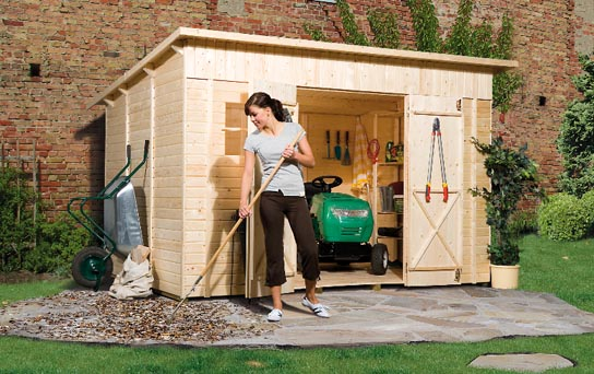 Ordnung im grünen Wohnzimmer – Gartenhaus und Geräteschuppen