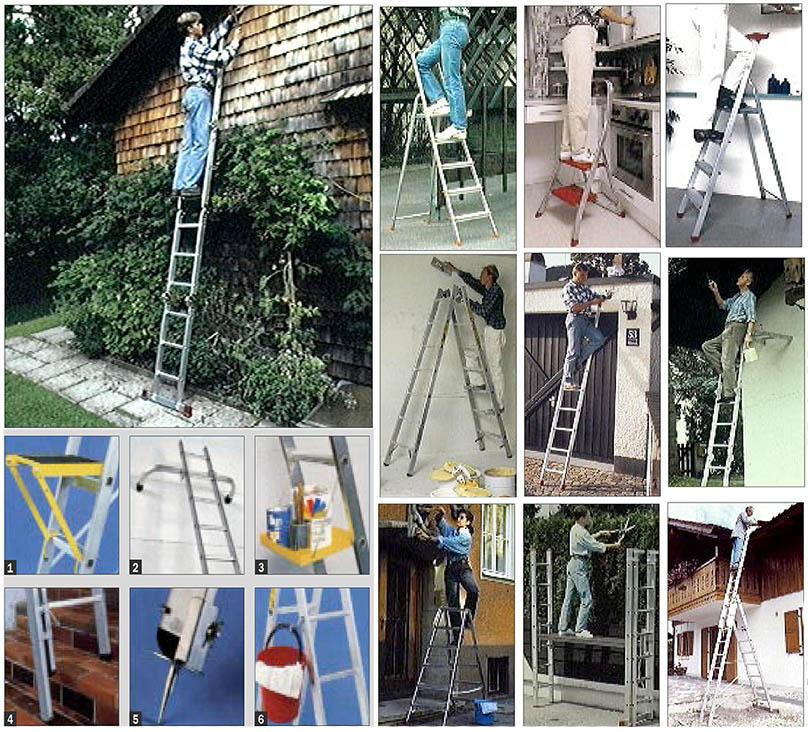 Leitern für Haus und Wohnung – Sicherheit ist oberstes Gebot